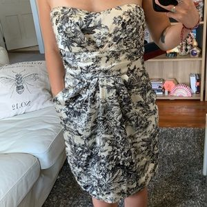 ModCloth Floral Formal Dress